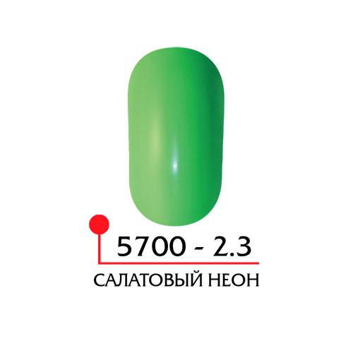 Цветная акриловая пудра - салатовый неон