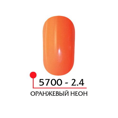 Цветная акриловая пудра - оранжевый неон