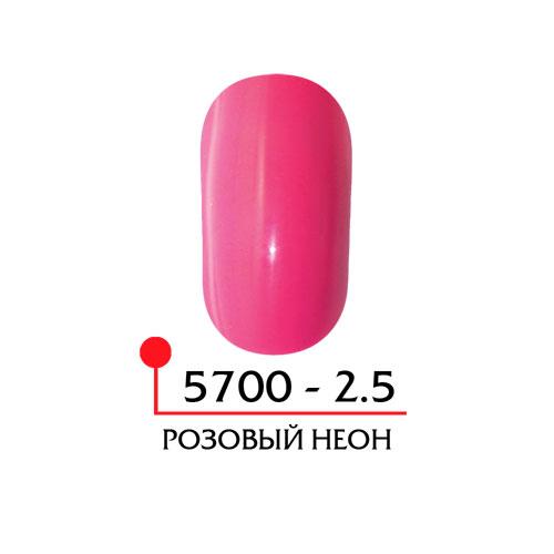 Цветная акриловая пудра - розовый неон