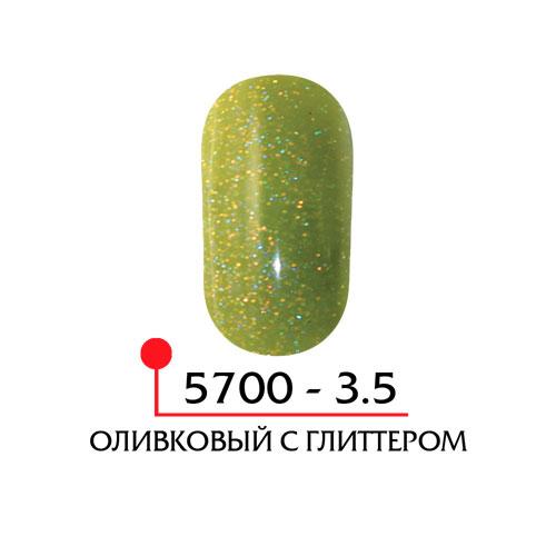 Цветная акриловая пудра - оливковый с глиттером
