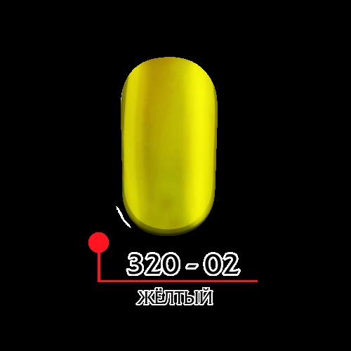 Гель лак витражный - желтый