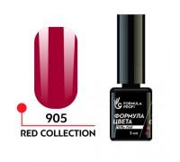 Гель лак - red collection 905