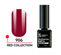 Гель лак - red collection 906