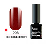 Гель лак - red collection 908