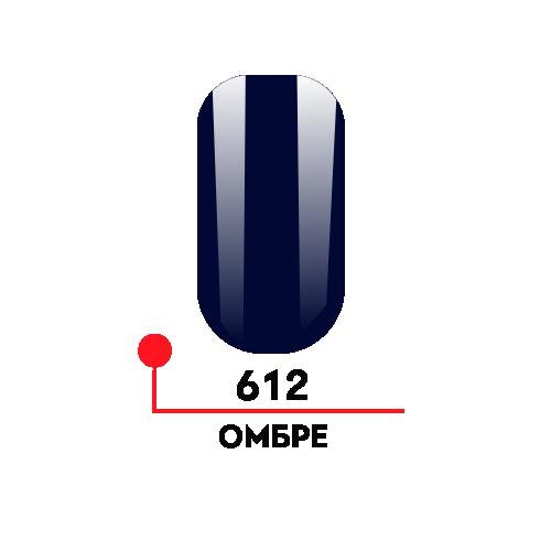 Гель лак - фиолет  612