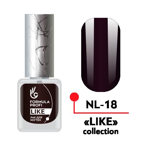 Лак для ногтей LIKE №18