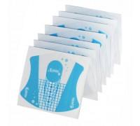 Формы для наращивания ногтей пластиковые прозрачные 100шт