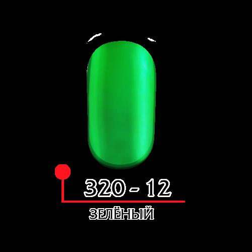 Гель лак витражный - зеленый