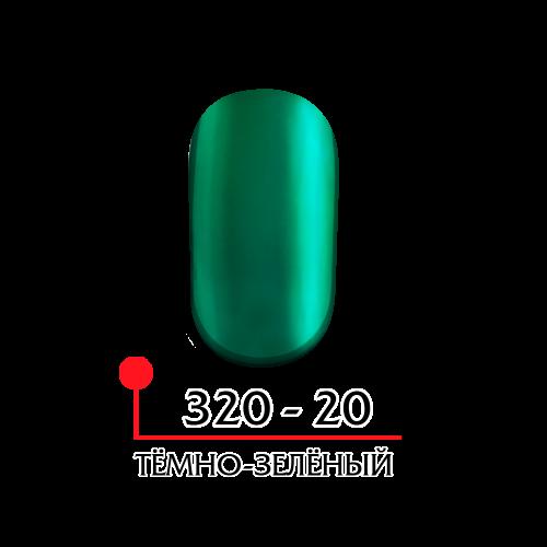 Гель лак витражный - темно зеленый