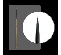 Кисть-трансформер ультратонкая нейлон №00 (7 мм) с лого ФП