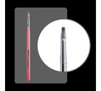 Кисть прямая для китайской росписи с цветной ручкой № 1