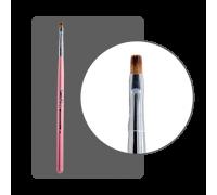 Кисть прямая для китайской росписи с цветной ручкой № 3