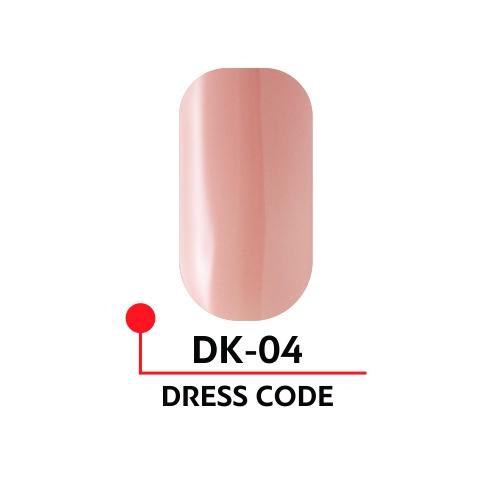 """Гель-лак """"DRESS CODE"""" №04, 5 мл"""