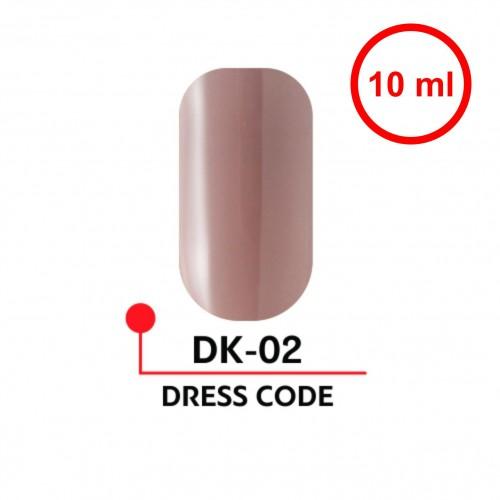 Гель-лак DRESS CODE №02 (10 мл)