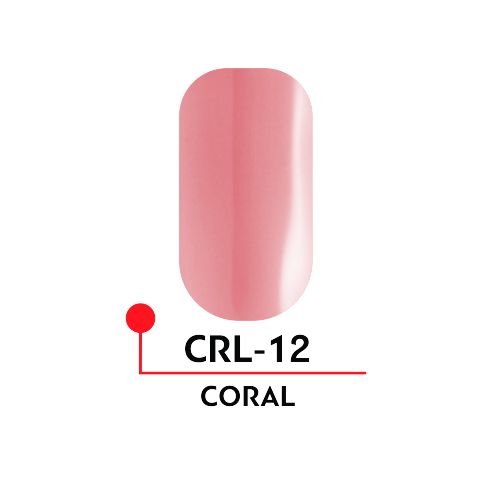 Гель-лак CORAL №12 (5 мл)