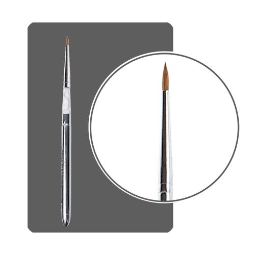 Кисть для акрила трансформер с деревянной ручкой № 2