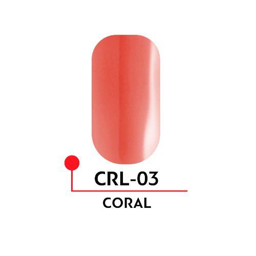 Гель-лак CORAL №03 (5 мл)