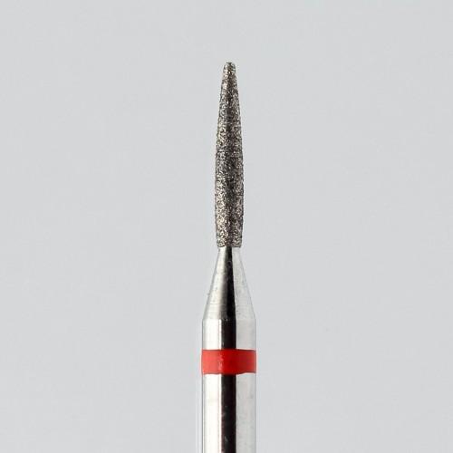 Фрезы алмазные Пламя мелкозернистые (red) d.1.2