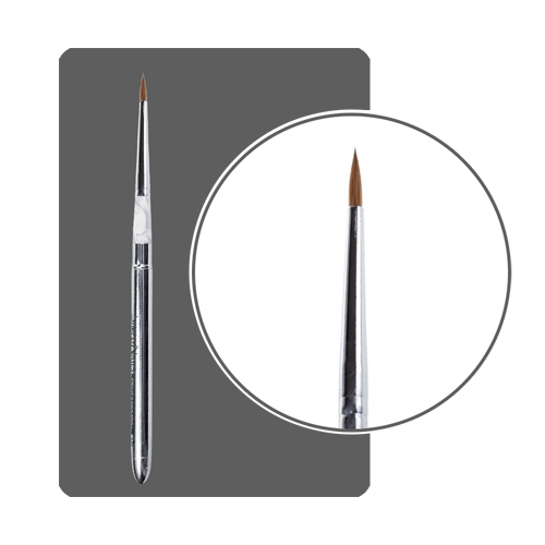 Кисть для акрила трансформер с деревянной ручкой № 1
