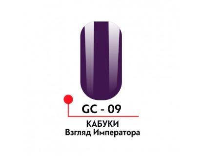 Гель-краска Кабуки №09, цвет Взгляд императора, 5 гр.