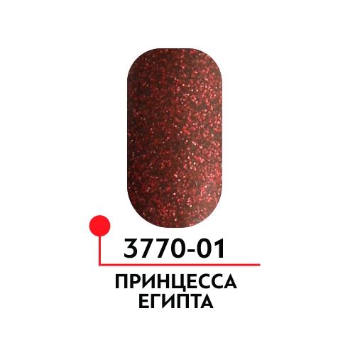 Гель-лак Принцесса Египта, цвет Воплощение души №01,  5 мл