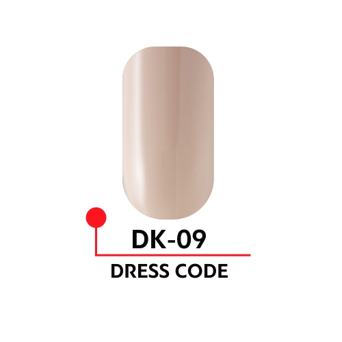 """Гель-лак """"DRESS CODE"""" №09, 5 мл"""