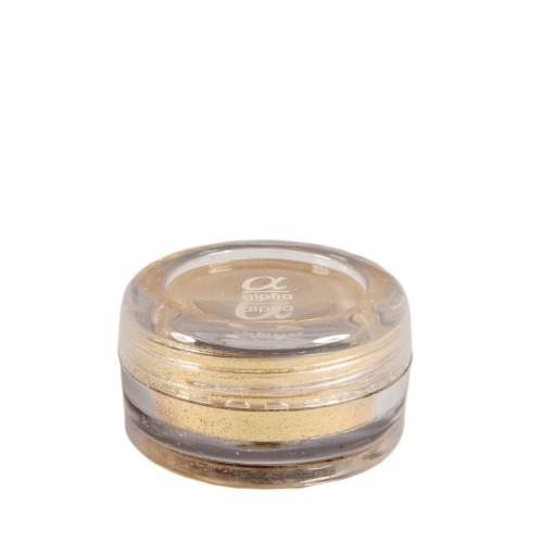 Пигмент перламутровый в баночке ALPHA №08, светлое золото