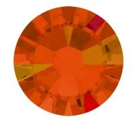 Стразы Swarovski № 6 AB красно-оранжевые 50 шт.