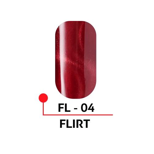 """Гель-лак с эффектом кошачьего глаза """"FLIRT"""" №04, 5 мл."""