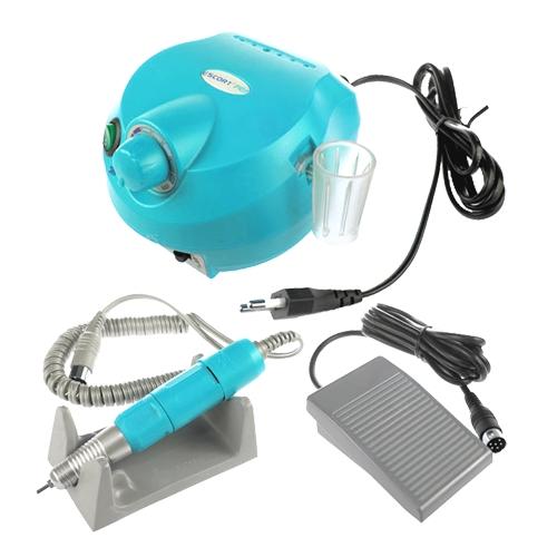 Машинка Escort 2 Pro Nail, 40 Ватт, голубая