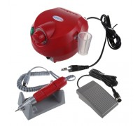 Машинка Escort 2 Pro Nail, 40 Ватт, красная