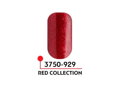 Гель-лак Формула цвета Red collection №929, 5 мл