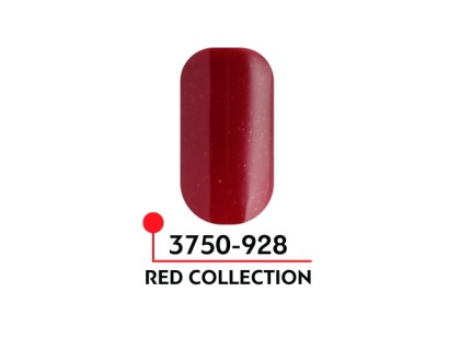 Гель-лак Формула цвета Red collection №928, 5 мл