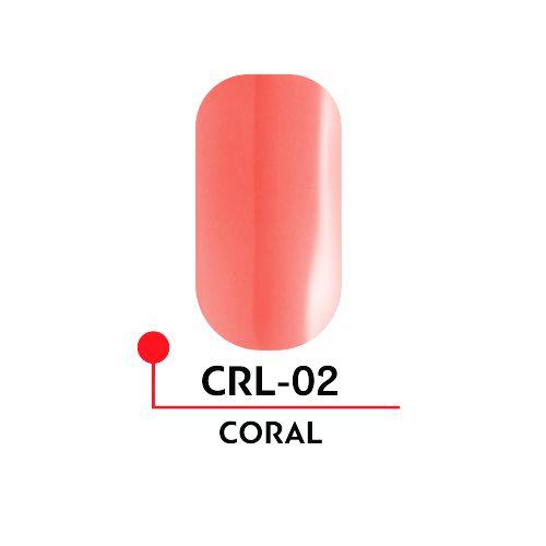 Гель-лак CORAL №02 (5 мл)