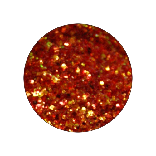 Конфетти в баночке 5гр., цвет кирпичный