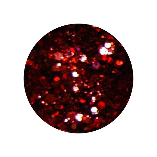 Конфетти в баночке 5гр., цвет темно-красный