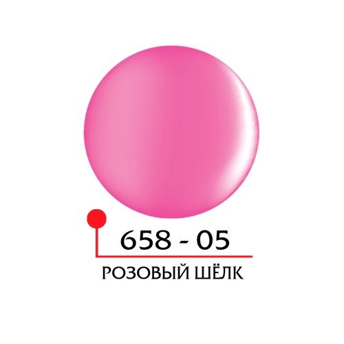 Цветной гель 4Д - розовый шелк