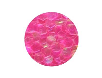 Конфетти крупное, розовое неон