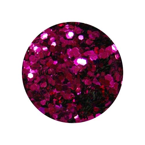 Конфетти в баночке 5гр., цвет баклажан крупное