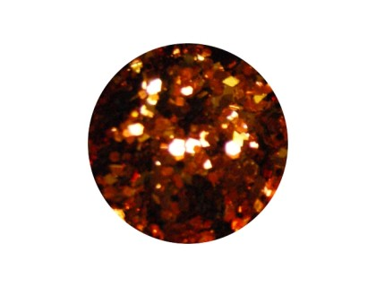 Конфетти в баночке 5гр., цвет тёмно-оранжевый ромб микс