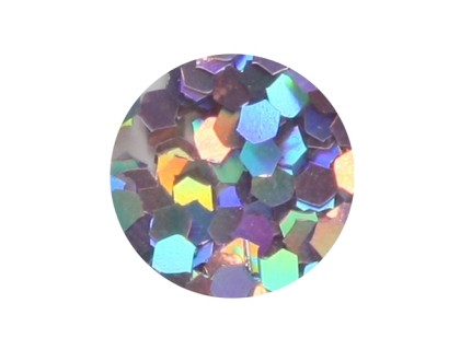 Конфетти крупное, лиловое