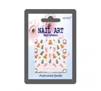Наклейка Nail ART (колокольчик, ёлка)