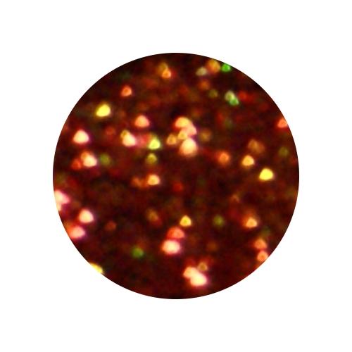 Конфетти в баночке 5гр., цвет тёмно-оранжевый