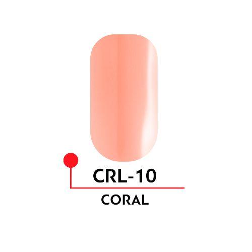Гель-лак CORAL №10 (5 мл)
