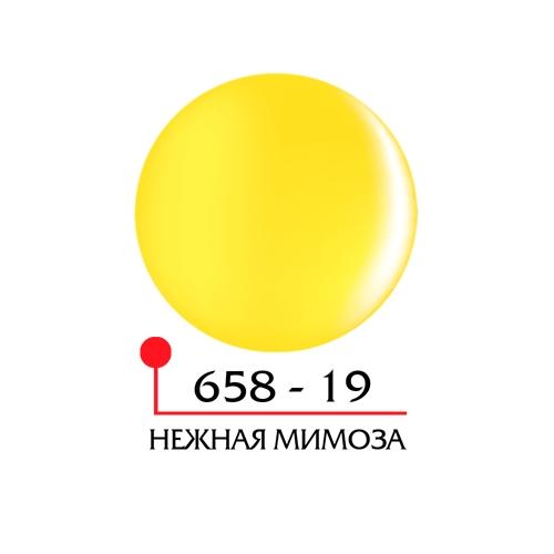 Цветной гель 4Д - нежная мимоза