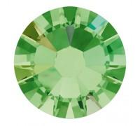 Стразы Swarovski № 6 AB зеленые 50 шт.