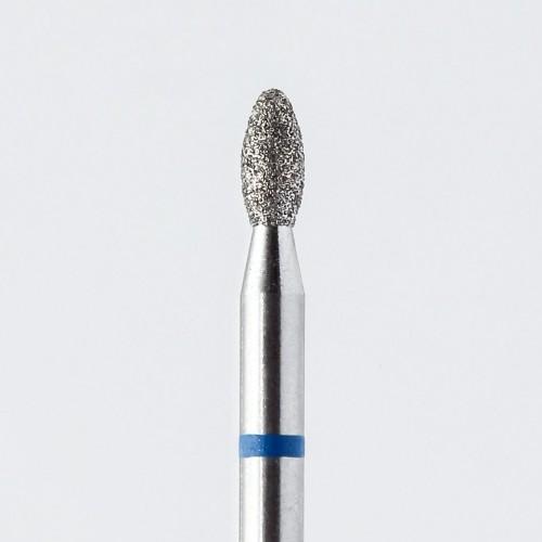 Фреза алмазная среднезернистая Капля 2.3 (blue)