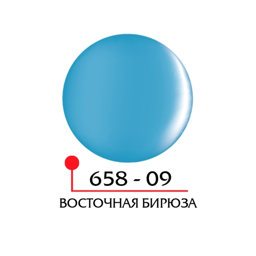 Цветной гель 4Д - восточная бирюза