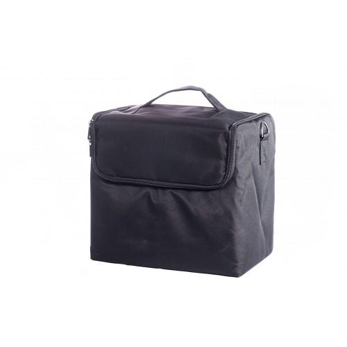 Сумка мастера для инструментов текстиль, цвет чёрный 30х30х21 см.