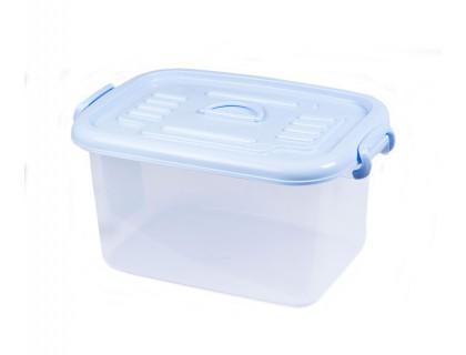 Контейнер пластиковый для хранения 22х19,5х33 см с цветной крышкой